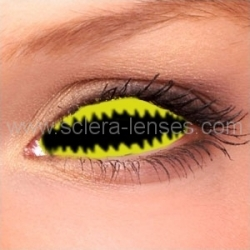 Jaws Yellow Sclera Contact Lenses (1 pair)