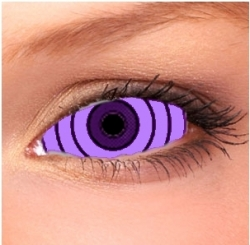 Rinnegan Light Violet Sclera Contact Lenses (1 pair)
