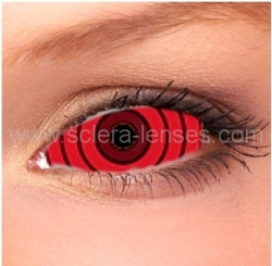 Rinnegan Red Sclera Contact Lenses (1 pair)