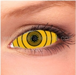 Rinnegan Yellow Sclera Contact Lenses (1 pair)