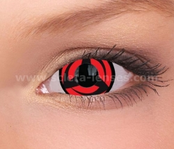 Naruto Kakashi Mini Sclera Contact Lenses (1 pair)
