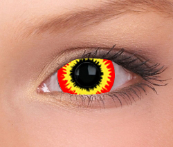 Fire Mini Sclera Contact Lenses (1 pair)