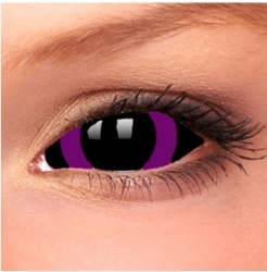 Violet Circle Sclera Contact Lenses (1 pair)
