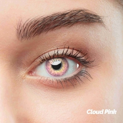 Cloud Pink Colored Contact Lenses (1 pair)