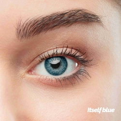 Itself Blue Colored Contact Lenses (1 pair)