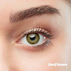 Itself Brown Colored Contact Lenses (1 pair)