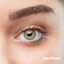 Cloud Brown Colored Contact Lenses (1 pair)