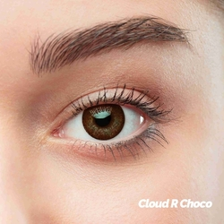 Cloud R Choco Colored Contact Lenses (1 pair)