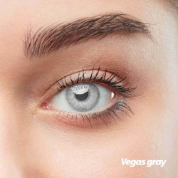 Vegas Gray Colored Contact Lenses (1 pair)