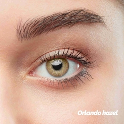 Orlando Hazel Colored Contact Lenses (1 pair)