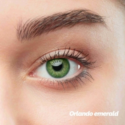 Orlando Emerald Colored Contact Lenses (1 pair)