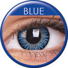 3 Tones Blue Prescription Colored Lenses (1 pc)