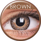3 Tones Brown Prescription Colored Lenses (1 pc)