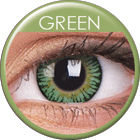 3 Tones Green Prescription Colored Lenses (1 pc)