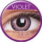 3 Tones Violet Prescription Colored Lenses (1 pc)