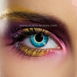 Fusion Yellow Blue Contact Lenses (1 pair)
