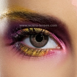 Chocolate Brown 3 Tones Contact Lenses (1 pair)