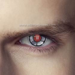 Terminator Robot Eye Contact Lenses (1 pair)