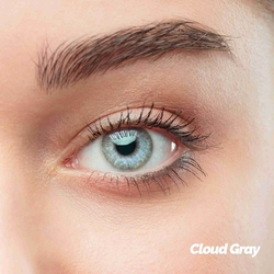 Cloud Gray Colored Contact Lenses (1 pair)
