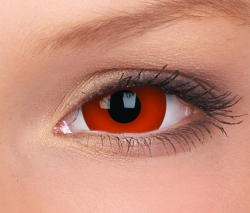 Red Mini Sclera Contact Lenses (1 pair)