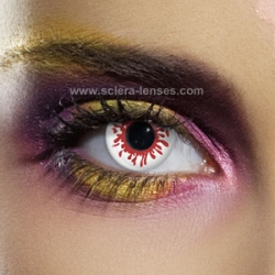Blood Splat Contact Lenses (1 pair)