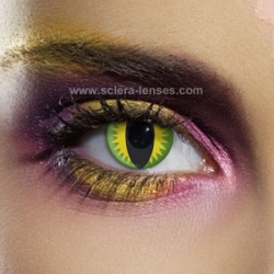 Green Dragon Eye Contact Lenses (1 pair)