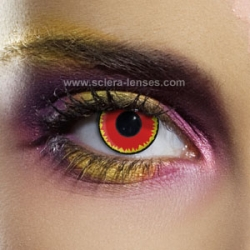 Red Vampire Contact Lenses (1 pair)