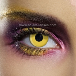 Yellow Contact Lenses (1 pair)