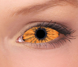 Elf Orange Sclera Contact Lenses (1 pair)
