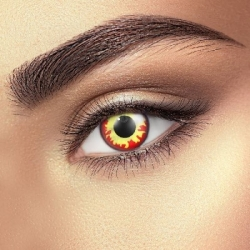 Flame Contact Lenses (1 pair)