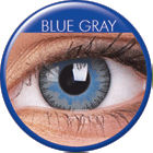 Fusion Grey Blue Prescription Colored Lenses (1 pc)