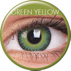 Fusion Yellow Green Prescription Colored Lenses (1 pc)