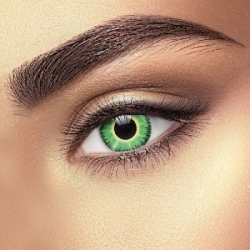 Fusion Green Yellow Contact Lenses (1 pair)
