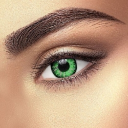 Glamour Green Contact Lenses (1 pair)