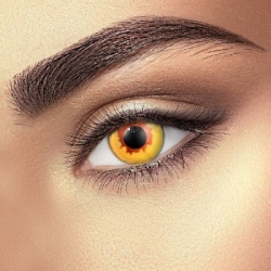 Gold Vampire Contact Lenses (1 pair)