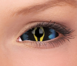 Ice Blue Dragon Sclera Contact Lenses (1 pair)