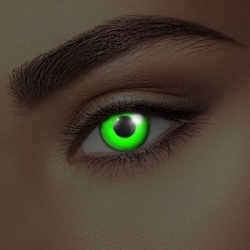 Glow Green UV Contact Lenses (1 pair)