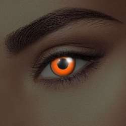 Glow Orange UV Contact Lenses (1 pair)