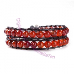 Two Row Wrap Bracelet - Breaking Dawn