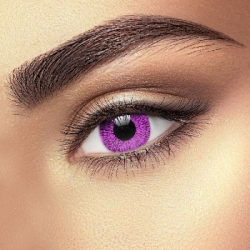 One Tone Violet Contact Lenses (1 pair)