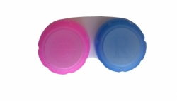 Lens Case for Crazy or Colored Contact Lenses (1 pcs)