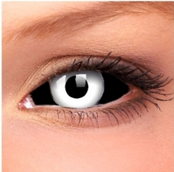 Negative Sclera Contact Lenses (1 pair)