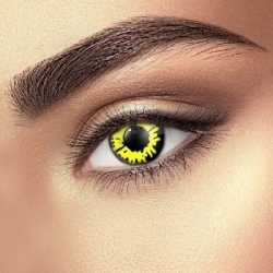 Yellow Werewolf Contact Lenses (1 pair)