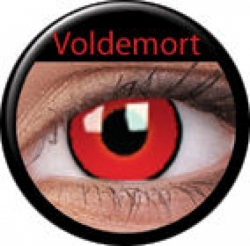 Voldemort Prescription Contact Lenses (1 pcs)