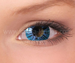 Blue Ghost Mini Sclera Contact Lenses (1 pair)