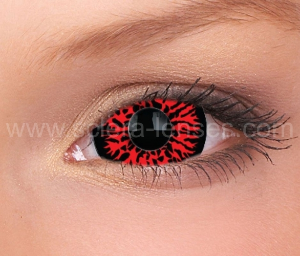Hell Mini Sclera Contact Lenses (1 pair)