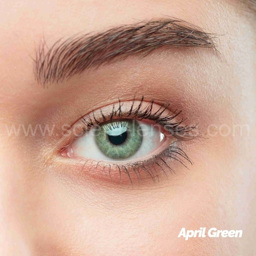April Green Colored Contact Lenses (1 pair)