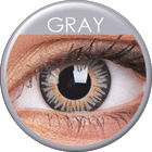 3 Tones Grey Prescription Colored Lenses (1 pcs)