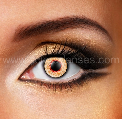 mummy contact lenses 1 pair
