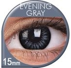 Big Eyes Evening Grey Prescription Colored Lenses (1 pcs)